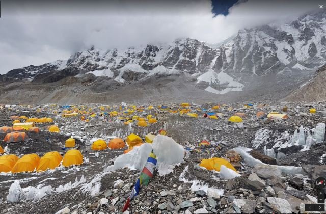 Mount Everest, Nepal   WHAT PEGMAN SAW on