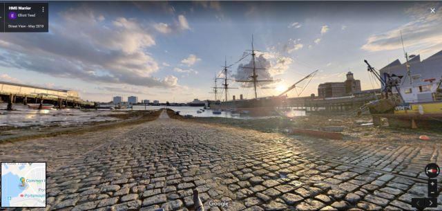 ships in port in portsmouth UK