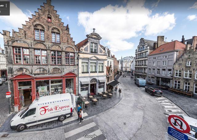 Bruges, Belgium | Дмитрий Ласько, Google Maps